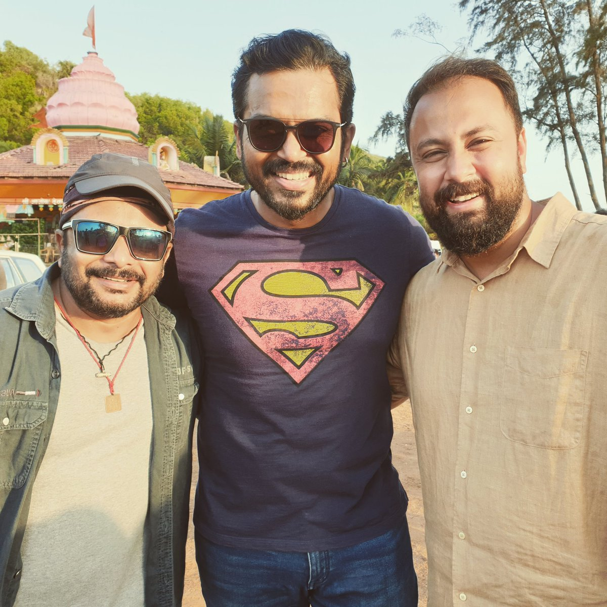 Finished shooting for a peppy song in Goa for the new movie starring @Karthi_Offl directed by #jeethujoseph captured by #rdrajasekar #GovindVasantha bro thanks for the lovely track produced by  @viacom18 #parallelmindsproductions @surajsadanah #Goa #choreographerlife