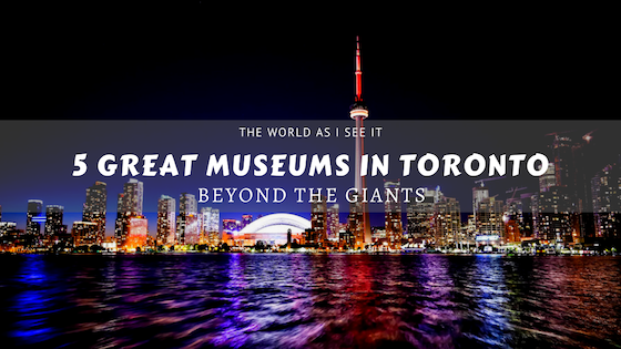 May is Museum Month! So if youre traveling to #Toronto check out these 5 Great Museums in Toronto! These museums share art in different forms as well as the history of Toronto ow.ly/MVUK30oHdVd #MayisMuseumMonth #Ontario @OntarioMuseums