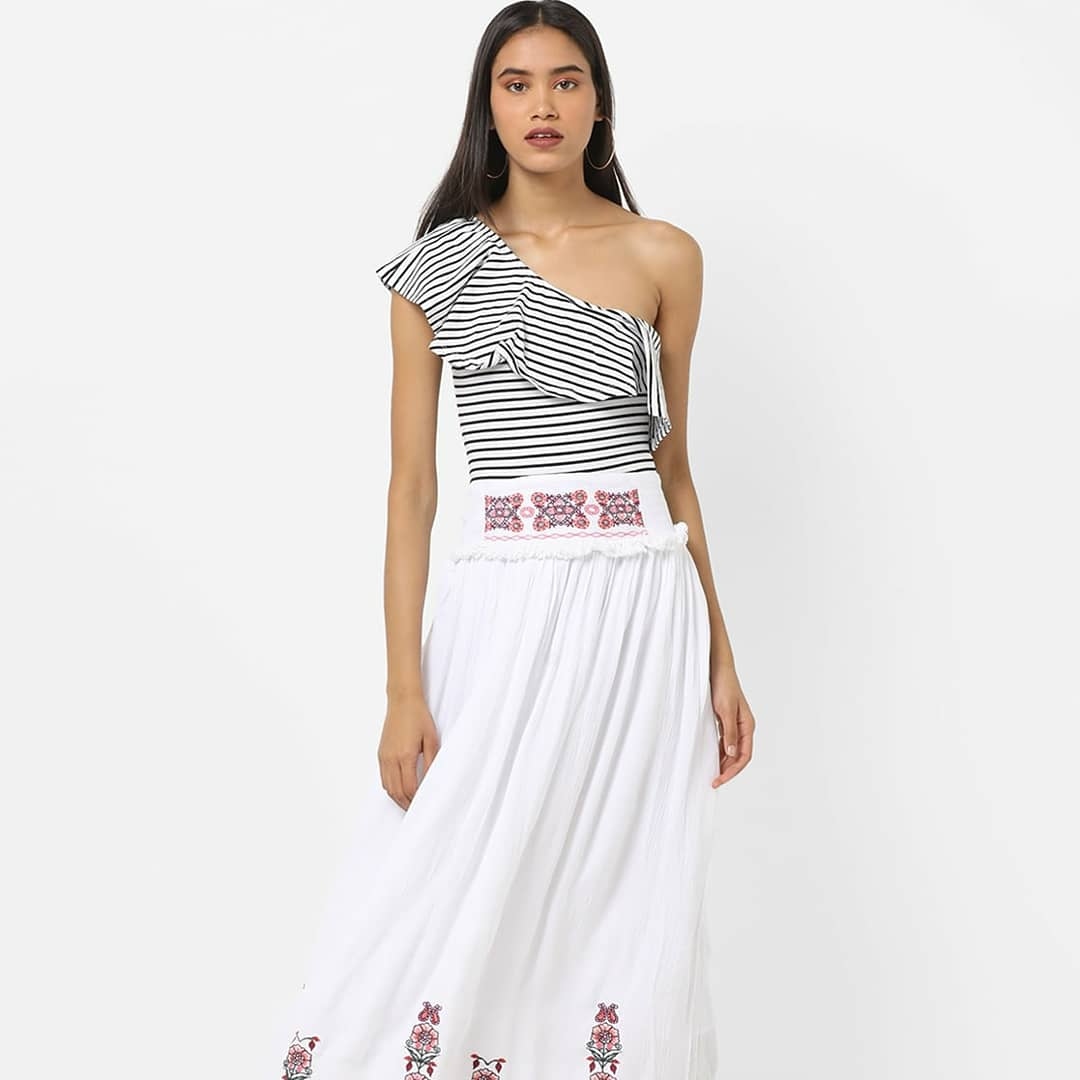 5a915b90f98 Shop from a wide range of skirts at the nearest Trends store.   GetThemTalking  SummerEssentials  RelianceTrends  NewArrivals  InstaStyle  ...