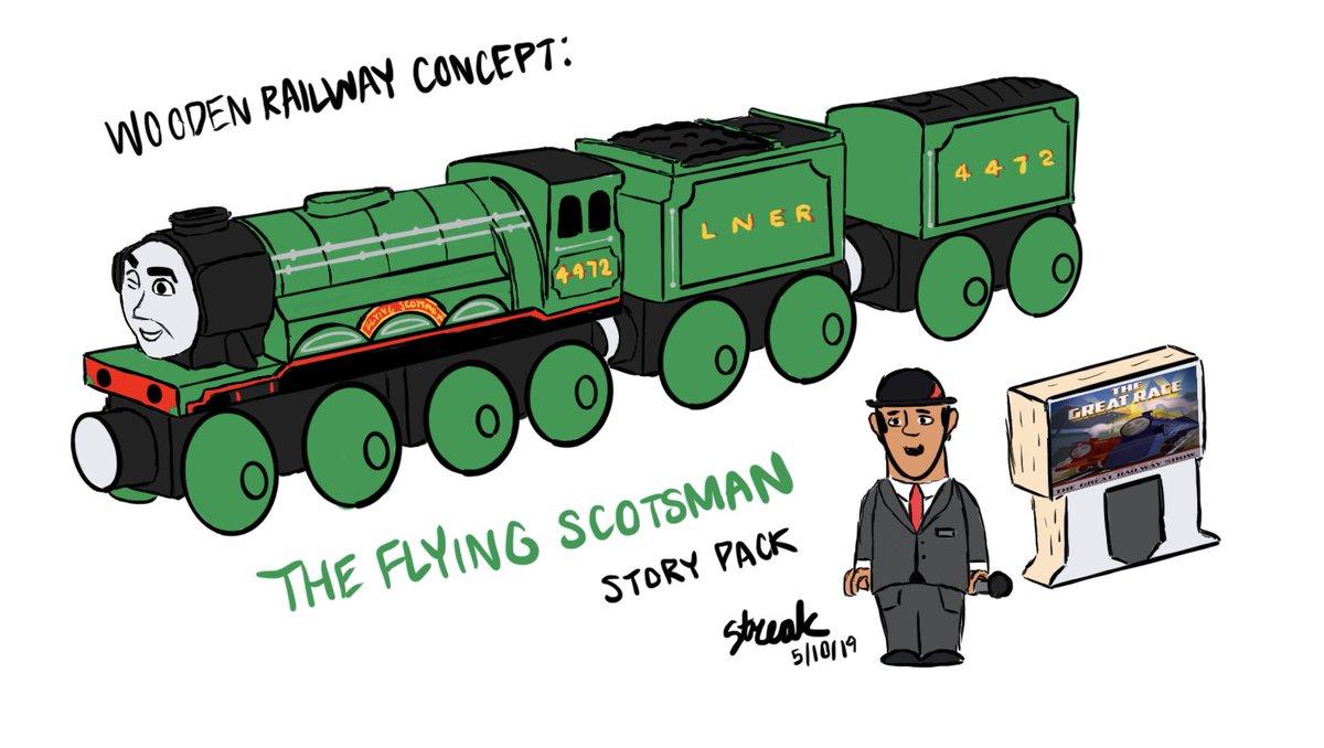Thomas Wooden Railway From Streak Inc