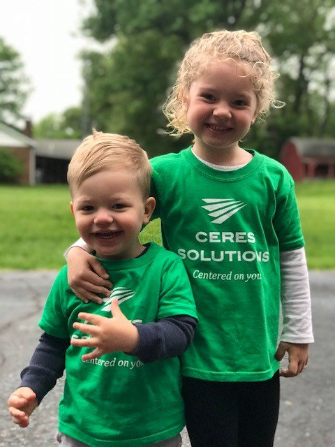 There are a few reasons that we love what we do at Ceres. These are a few of them each and every day. A rewarding smile when you come home or greet little ones like these.... Thanks to Shelby Oexmann and Karen Shotts for these great pictures! #ceressolutionspride