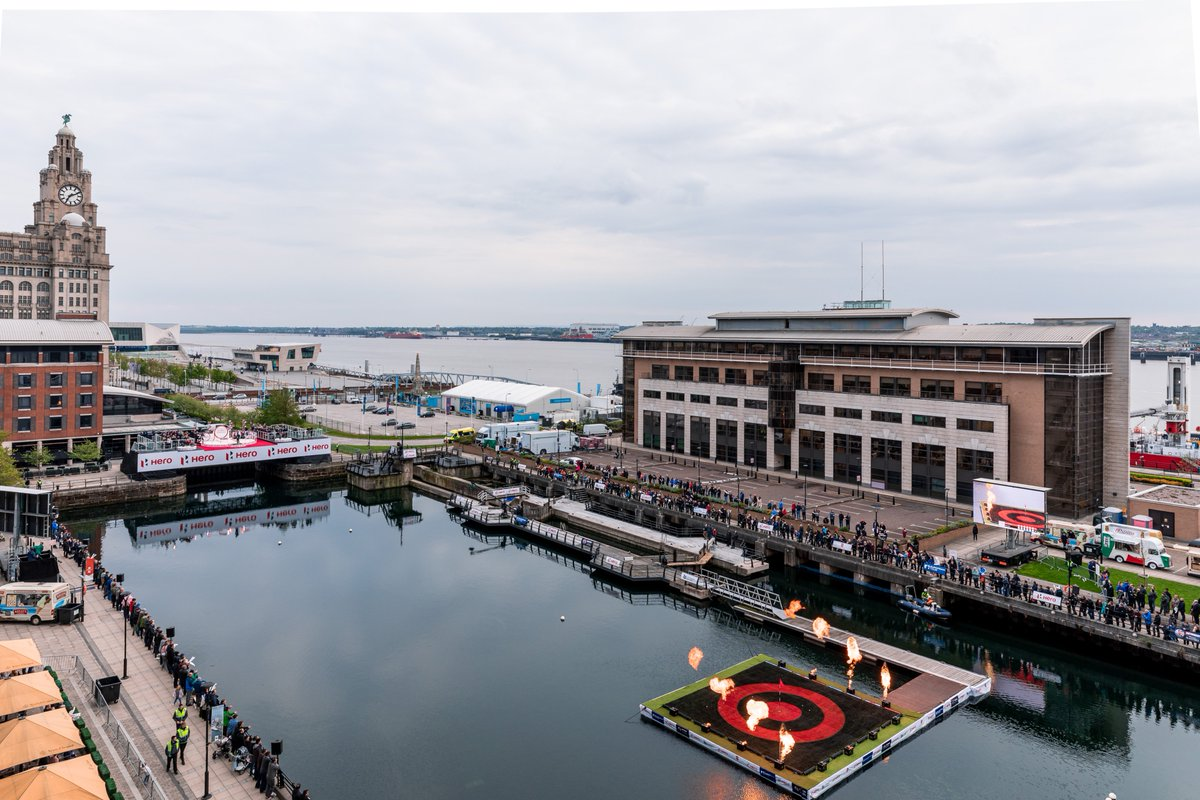 This time last week, we were getting ready to host the fantastic @EuropeanTour #HeroChallenge at Princes Dock ahead of the #BetfredBritishMasters!