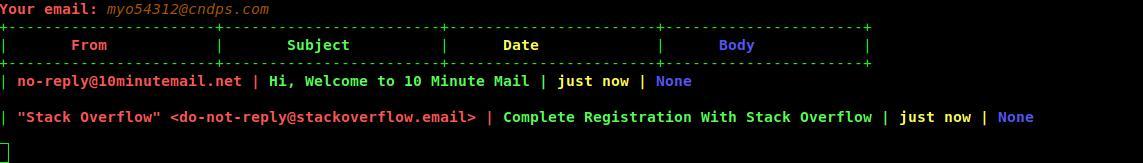 wegwerf email gmail