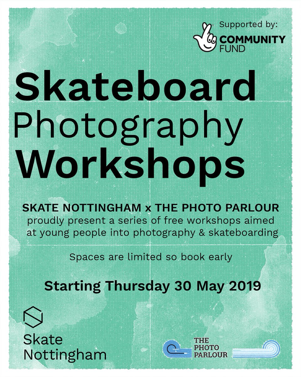 In the runup to our #skatephotography course and 'Skateboarding in the City' festival, #skatenottingham now has its own autonomous Twitter persona....  give the ol' fella a follow:  @NottinghamSkate