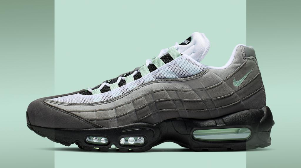 a178eb4d6  ReleaseNews  The Nike Air Max 95 mint color way just dropped! SHOP NOW