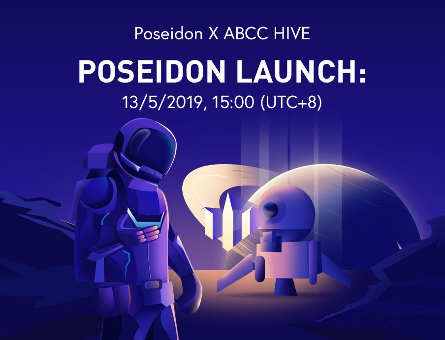 Poseidon Network, our latest IEO project will be launched on 13th May! Read this article and find out how this project lets you sell your idle bandwidth and data storage space @QQQtoken   Read It Here: https://blog.abcc.com/no-more-internet-lags-with-poseidon-network/…  Basic IEO Details: https://help.abcc.com/hc/en-us/articles/360027940372-Poseidon-QQQ-Token-Sale-on-ABCC-HIVE…