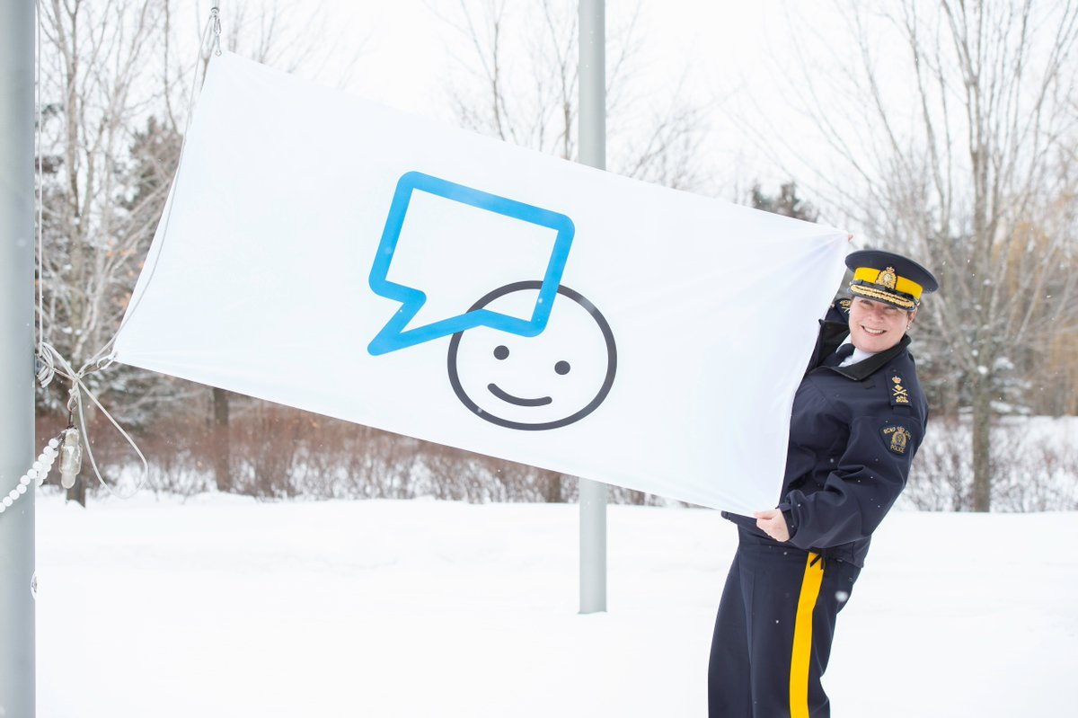 Yesterday marked the start of National Police Week. We are proud to include @rcmpgrcpolice & police officers from around Canada as partners in eradicating the stigma around mental illness. Thanks to all officers from coast to coast to coast! @CommrRCMPGRC @RCMPCHRO_DRHGRC