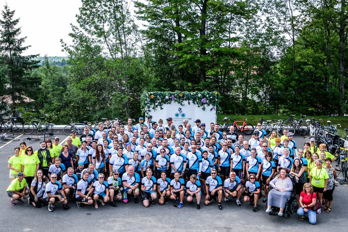 We look forward to the 12th edition of the #RideToFightALS powered by @TELUSHealth! Join #TeamALS from August 23 to 25 and come spend an amazing weekend at Auberge Godefroy in Bécancour! One, two and three-day options are available!https://buff.ly/2RKLOKh 🚴