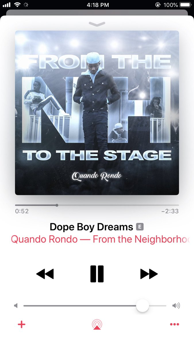 """#8 """"dope boy dreams"""" produced by ME On @quando_rondo new album out now !"""