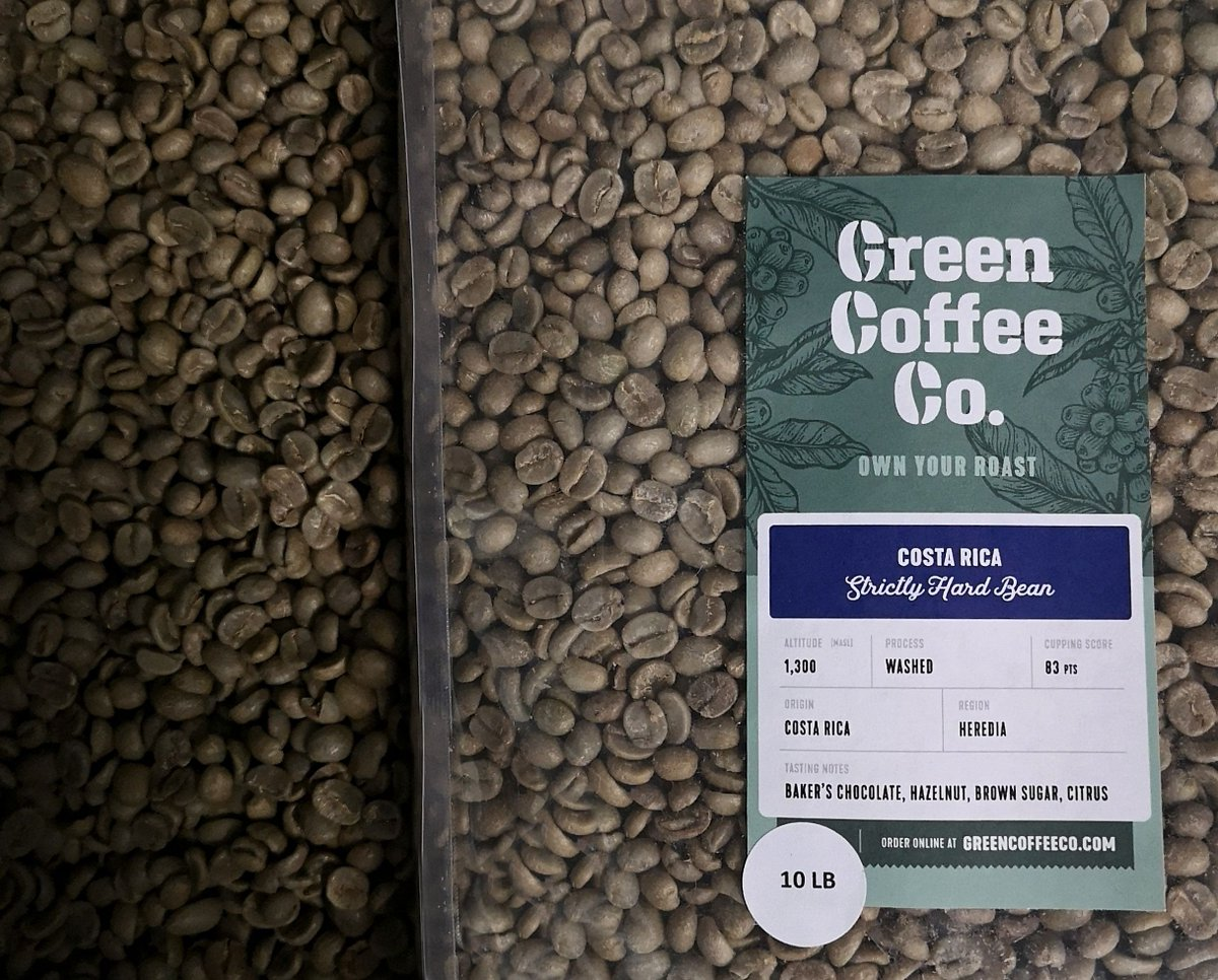 Green Coffee Co On Twitter We Re Live On Amazon With Our 10 Lb Bags Of Speciality Unroasted Coffee Beans Costa Rica Heredia Anyone Https T Co O3xx8zpyc3 Https T Co 5mz3zsyb8v