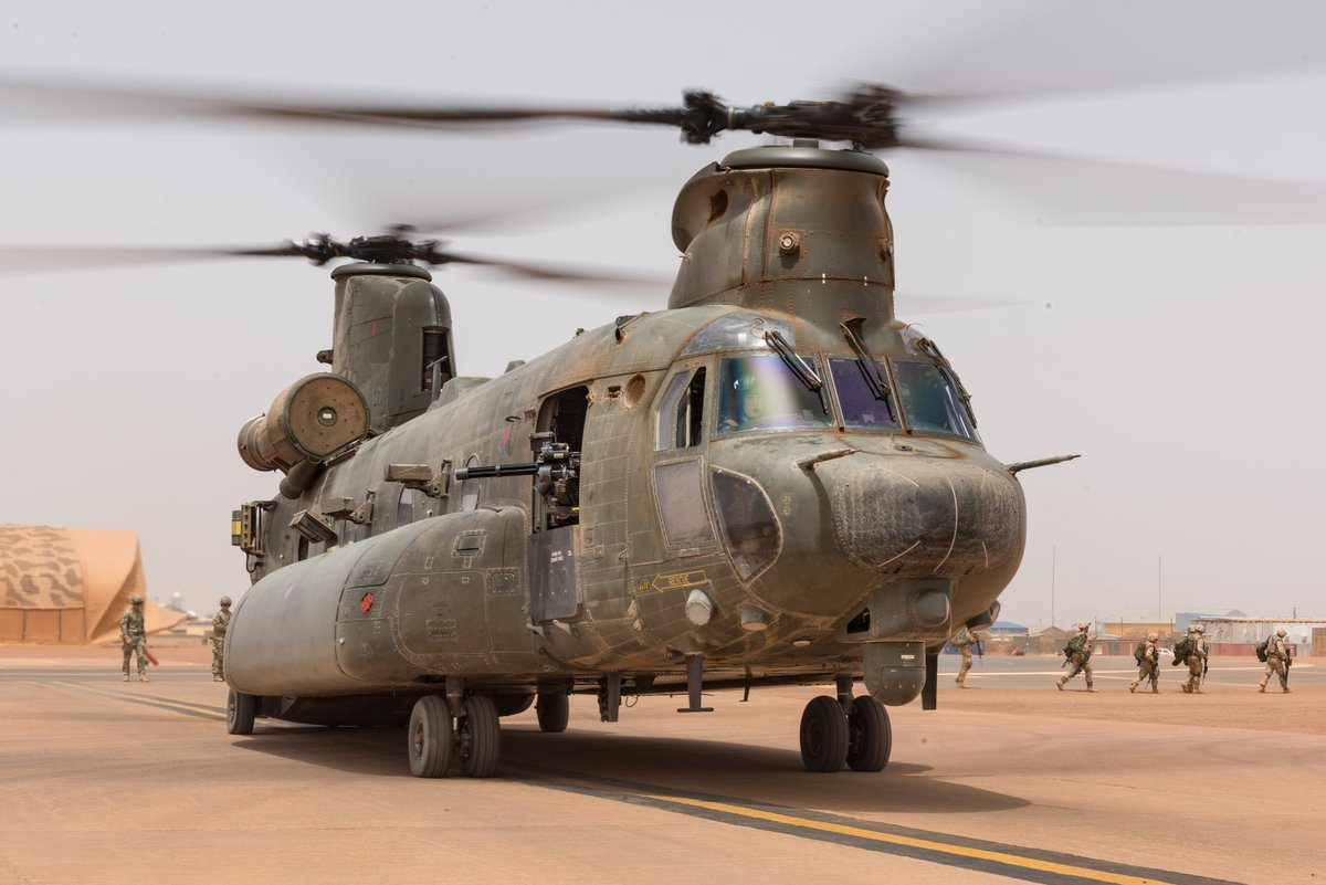 RAF personnel in Mali on Op NEWCOMBE have been conducting exercises with a Malian based Estonian Army detachment.  Read more: http://bit.ly/ChnkMaliEst