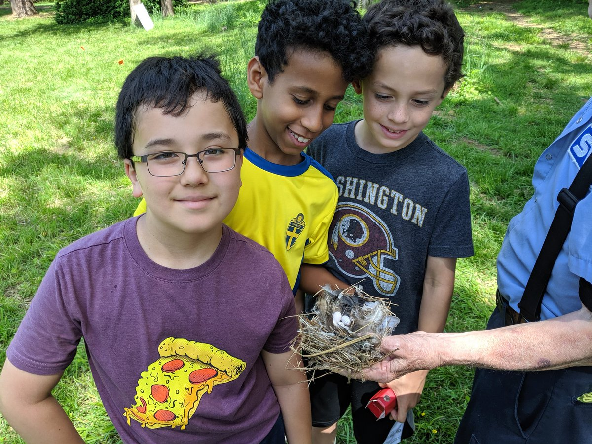 Ms. Probasco's class explores VA's state arboretum, Blandy Farm. They learned about birds, animal adaptations, habitats, and more! They even got to see a bird's nest full of eggs! <a target='_blank' href='http://search.twitter.com/search?q=atslearns'><a target='_blank' href='https://twitter.com/hashtag/atslearns?src=hash'>#atslearns</a></a> <a target='_blank' href='http://twitter.com/APS_ATS'>@APS_ATS</a> <a target='_blank' href='https://t.co/V3at55gi1M'>https://t.co/V3at55gi1M</a>