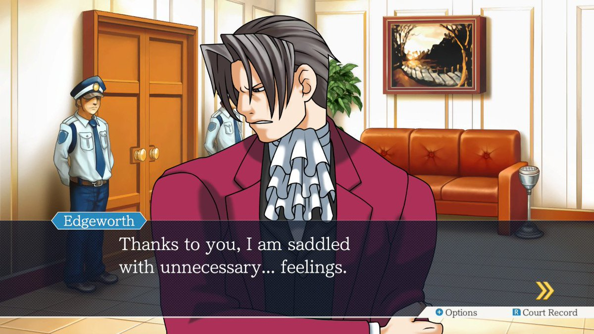 Ace Attorney On Twitter Don T Look So Down Feel How It Feels To