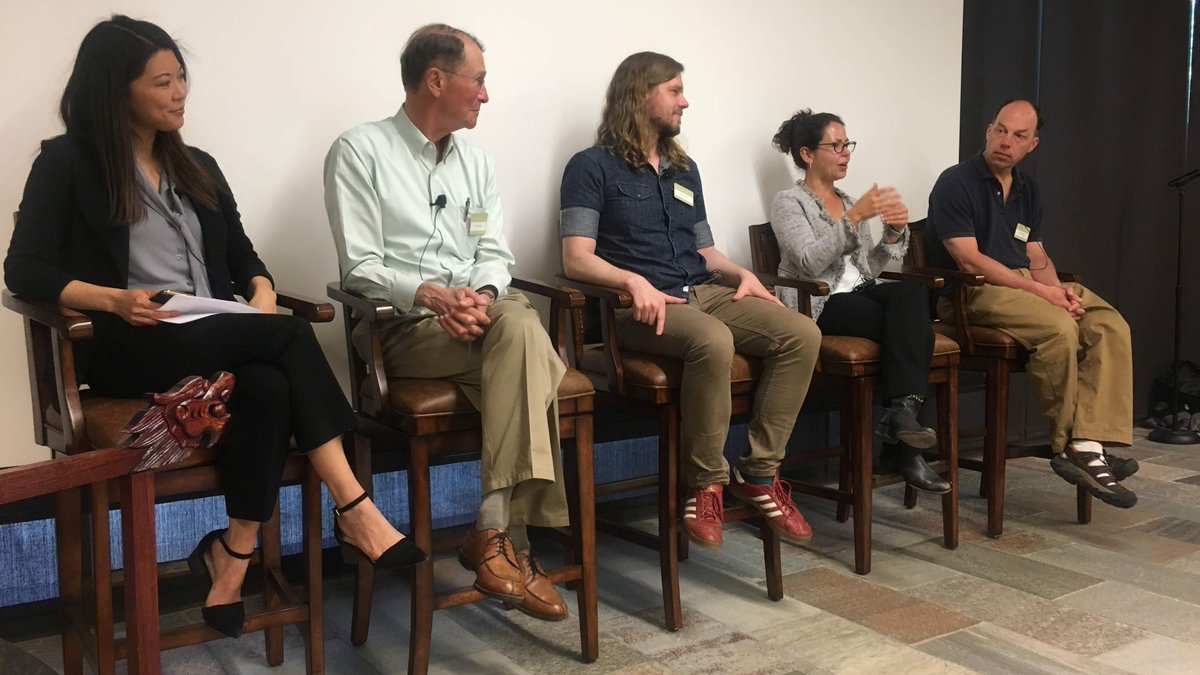 This week #PackardFellows Ryan Foley, Beth Shapiro, and Stephen Quake, and Advisory Panel member Lynn Orr, shared stories of the Packard Fellowship and their creative pursuit of science with Foundation staff. Thanks for joining us! #FellowsFriday @bonesandbugs @ucsctransients