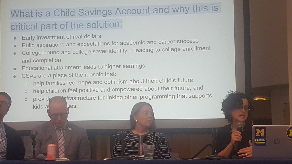 At #childrenssavingsaccounts, what are we trying to achieve.