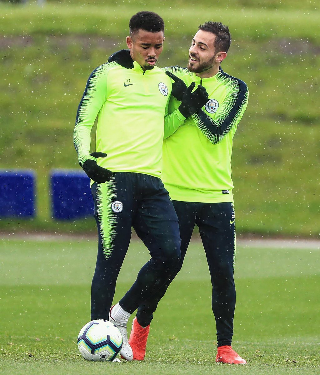 Getting ready for Sunday!  Come on @ManCity 🔵🔵 @gabrieljesus33