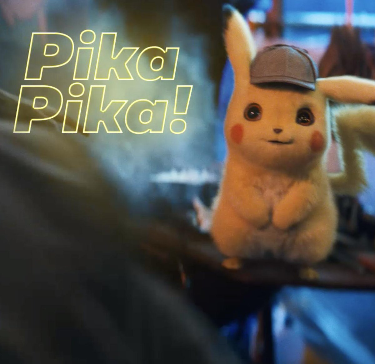 Can you hear him? 💛 Celebrate #PikachuDay and tag your most adorable friend. Pre-order #DetectivePikachu today.