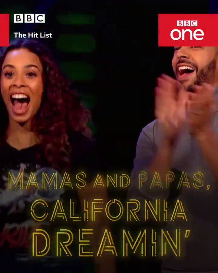 *New tomorrow!*  The musical game show hosted by @RochelleHumes and @MarvinHumes that will have you screaming at your TV.  At stake? £10,000.  The Hit List | BBC One | Saturday 7.30pm