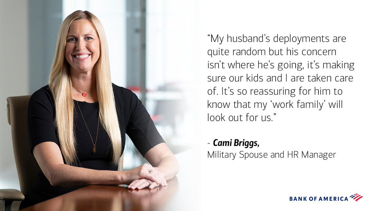 Not all who serve wear uniforms. On this #MilitarySpouseAppreciationDay, we give our heartfelt thanks to all of our military spouses who serve our country every day.