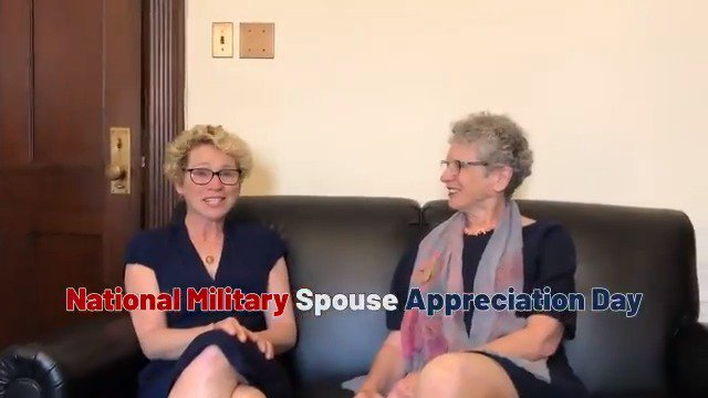 I spoke with my mother today in honor of #MilitarySpouseAppreciationDay. When the military recruits, they don't just recruit the individual; they recruit the family. My mother is the strongest person I know. She is my role model and the source of my strength. 1/