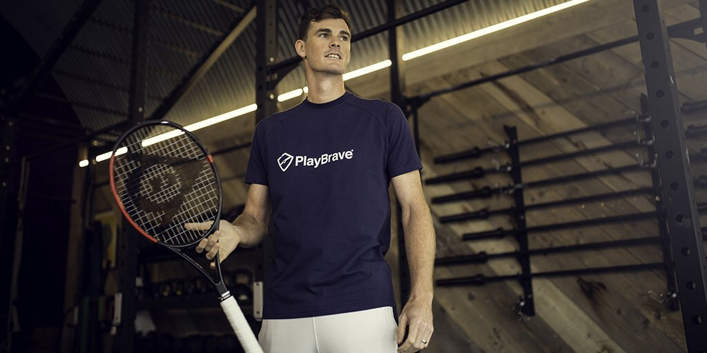 Getting ready to #PlayBrave. Proud to be the new Global Brand Ambassador for @PlayBrave #TeamPB