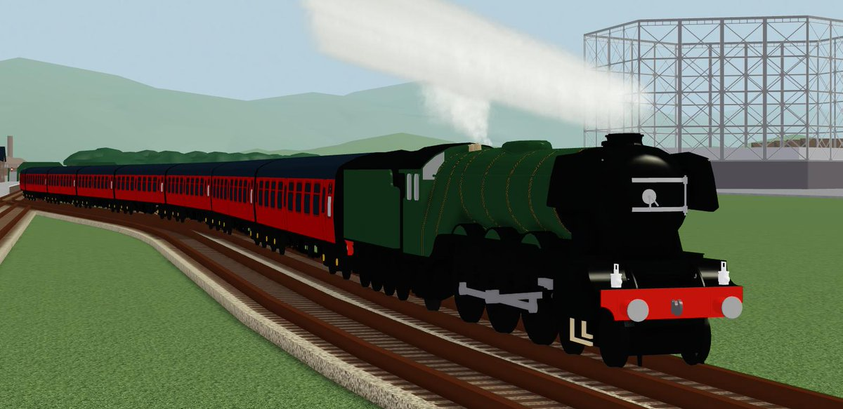 Two special guests built by @RedTrainRBLX have arrived in