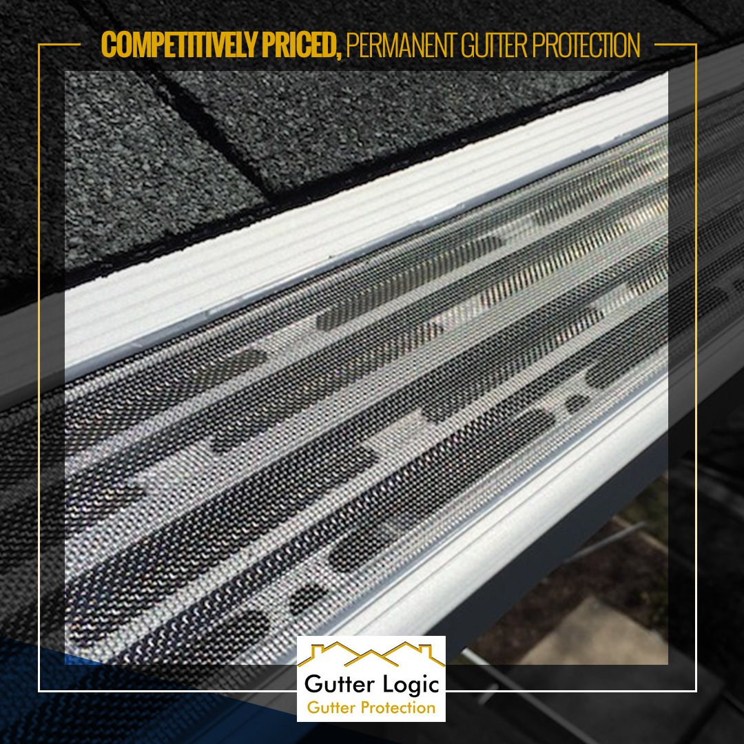 Put away the ladder and relax knowing that our competitively priced, permanent gutter protection system will do the job right, period! Learn why our professionally installed #GutterDome is superior to other gutter protection systems on the market today.