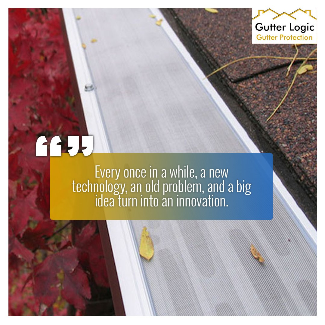 Not all gutter protection systems are created equal. At @GutterLogic, we only offer the finest products in the industry, so you can feel good knowing you have made a wise investment for your home. gutterlogic.com