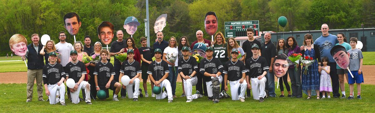 Senior Day for @baseball_pville Thanks to all who came out to support us. #Baseball=Life