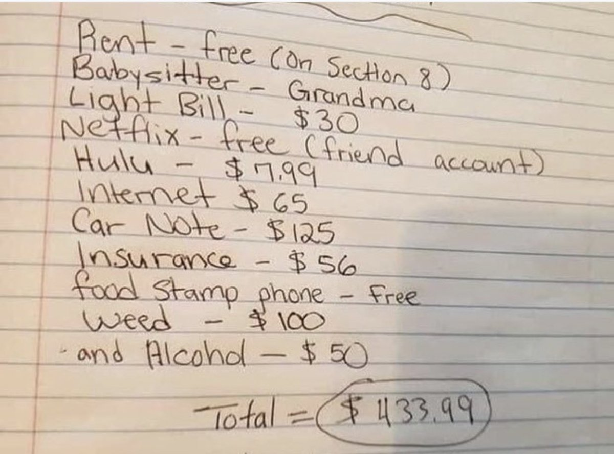 Wow! Only in America! I wish my bills were this low