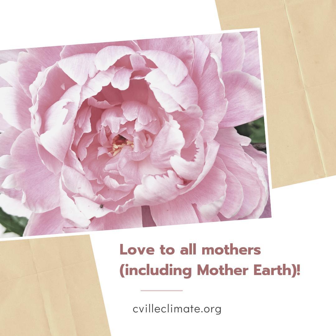 Happy #MothersDay from @cvilleclimate! #cville #motherearth #cvilleactsonclimate https://t.co/bwdIurBvxk