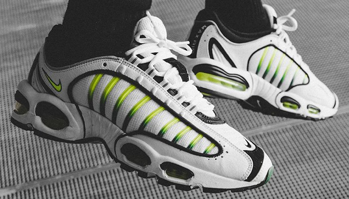 675e30cb79562 ... Nike Air Max Tailwind IV OG in white black-volt is available via   nikestore for  130 + FREE shipping with Nike+ BUY HERE -   http   bit.ly 2VivwOD (use ...