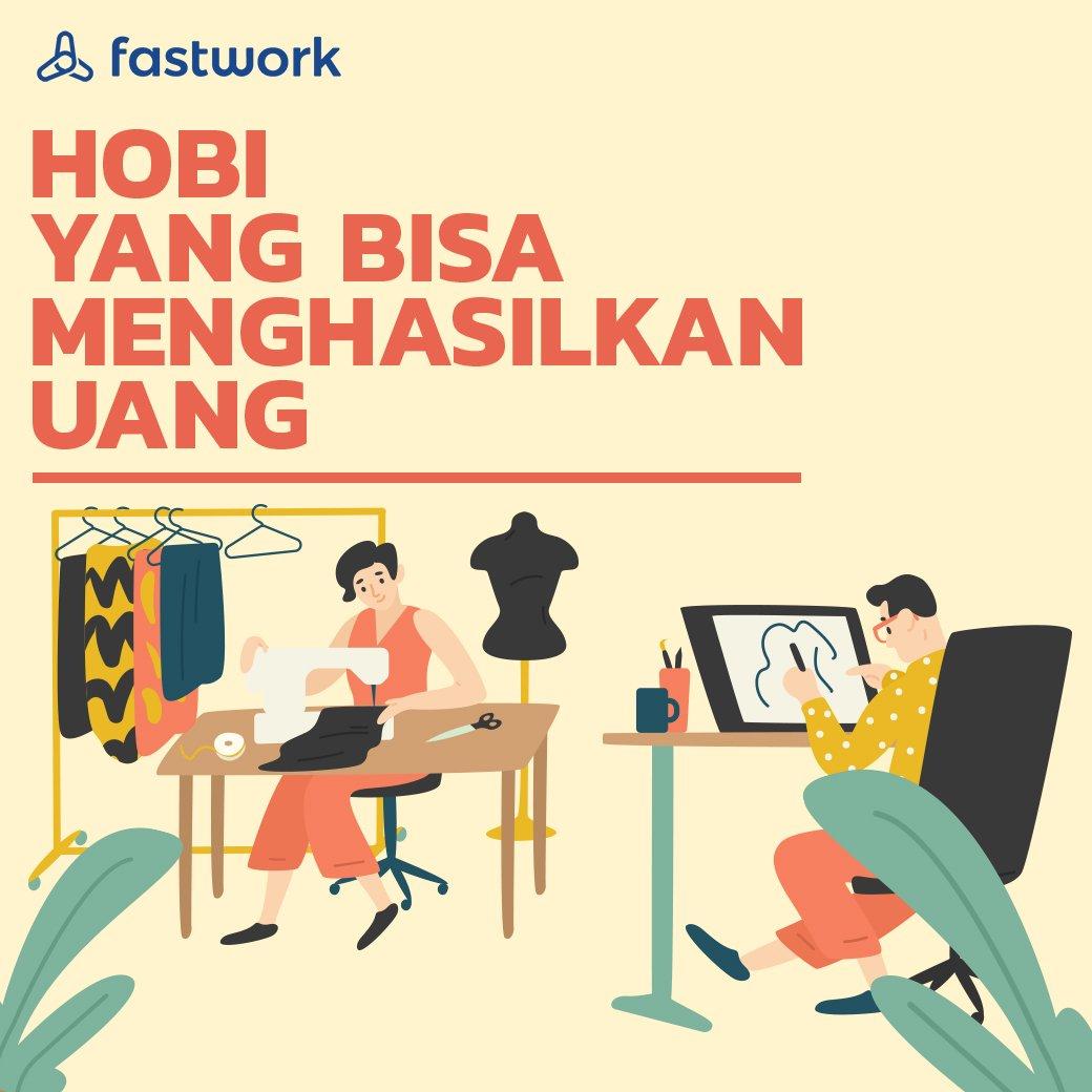 Menjadikan hobi sebagai pekerjaan yang menghasilkan uang bisa jadi mimpi bagi sebagian besar orang. Meski tidak mustahil, keinginan itu bukan hal yang mudah. Link: https://t.co/asoQXLgapX #FastworkIndonesia #cepetgaribet #Fastwork https://t.co/y2SP9VhsFd