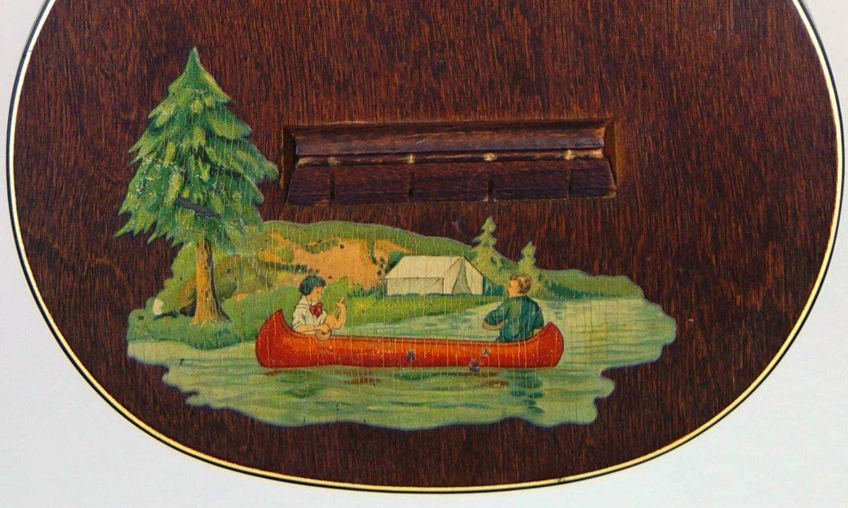 sears roebuck supetone Soprano Ukulele with canoe
