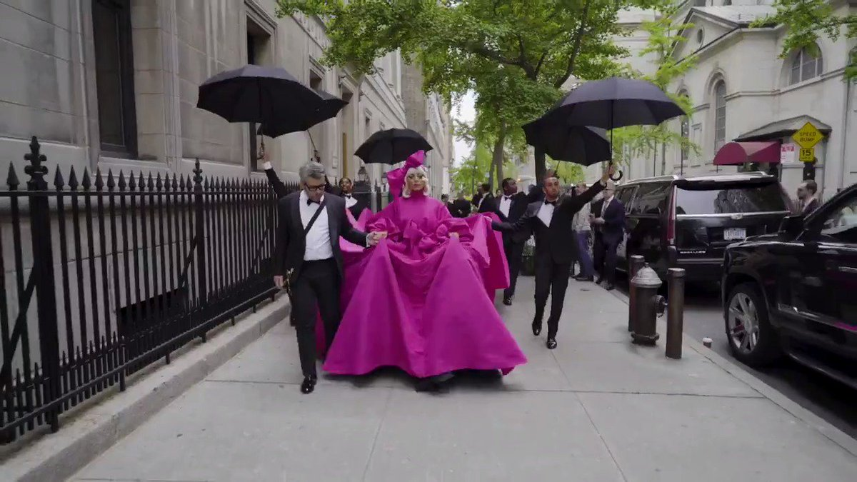 """""""Camp is a part of who we are. It's not something that we have to try to be."""" Watch the full video on @VogueMagazine! youtu.be/VBrBTFaM-64 #hausofgaga #metgala #metgaga"""