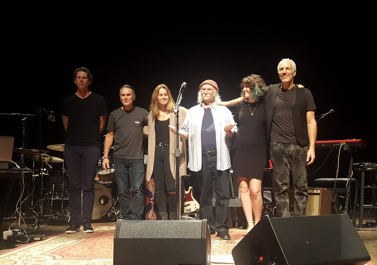 Go see this band! Absolutely blown away by the quality of the music coming from this group of musicians. Opening night was transformative, and thanks for the hospitality! #Minneapolis #skytrails  Steve DiStanislao @jamjora @maileisz @thedavidcrosby @boutwillismusic @jeffpevar<br>http://pic.twitter.com/vngG1e84Gu
