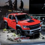 Image for the Tweet beginning: The @chevrolet Colorado ZR2 Bison
