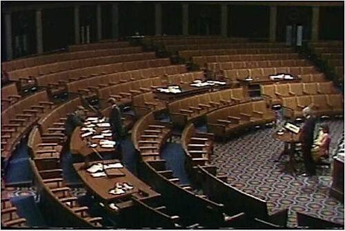 Image result for bernie sanders speaks before congress on Gulf war