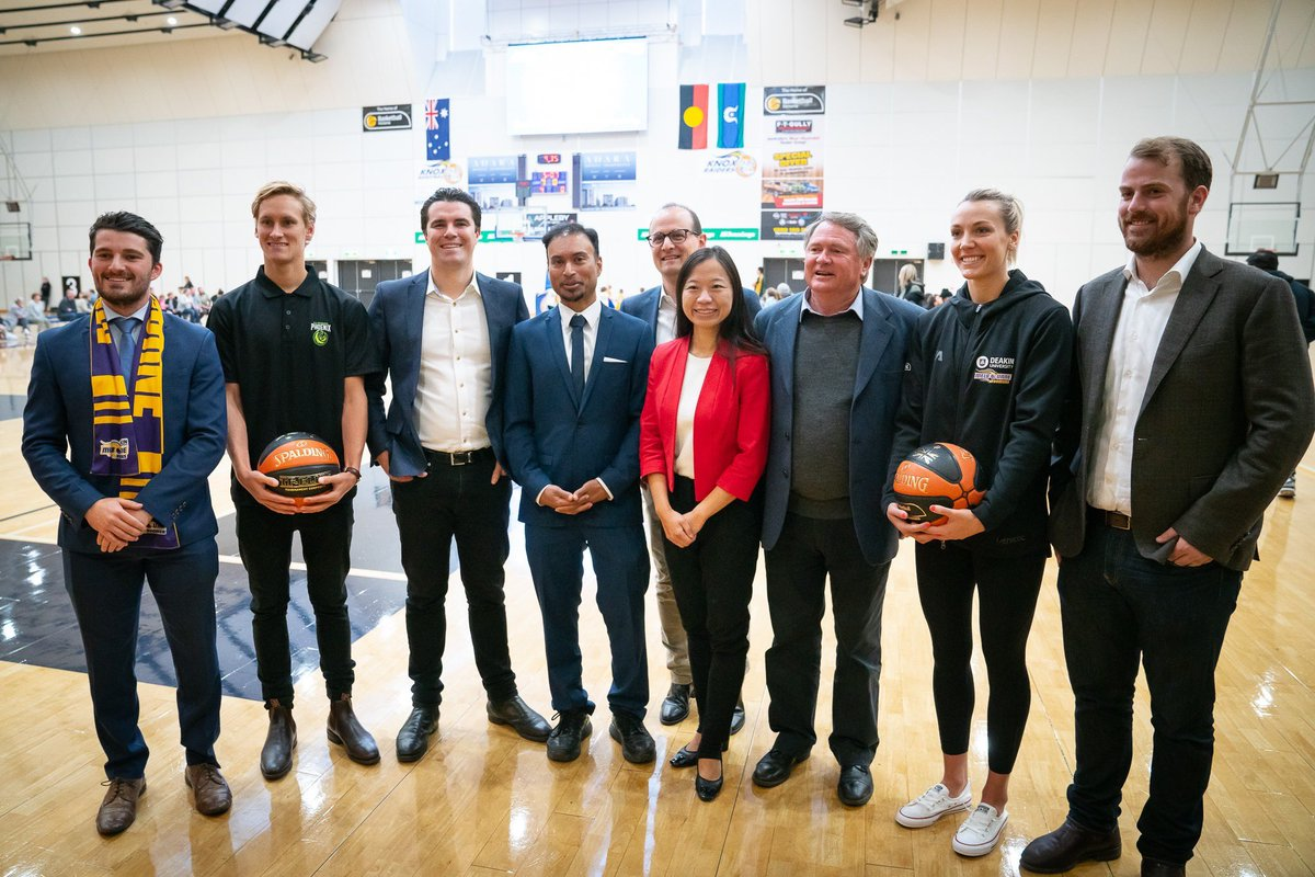 Fantastic announcement to enable further expansion of the Knox Regional Sports Park in Melbourne's east. This will help cater for the massive and growing demand from basketballers, gymnasts and soccer players in our region, especially women and girls.
