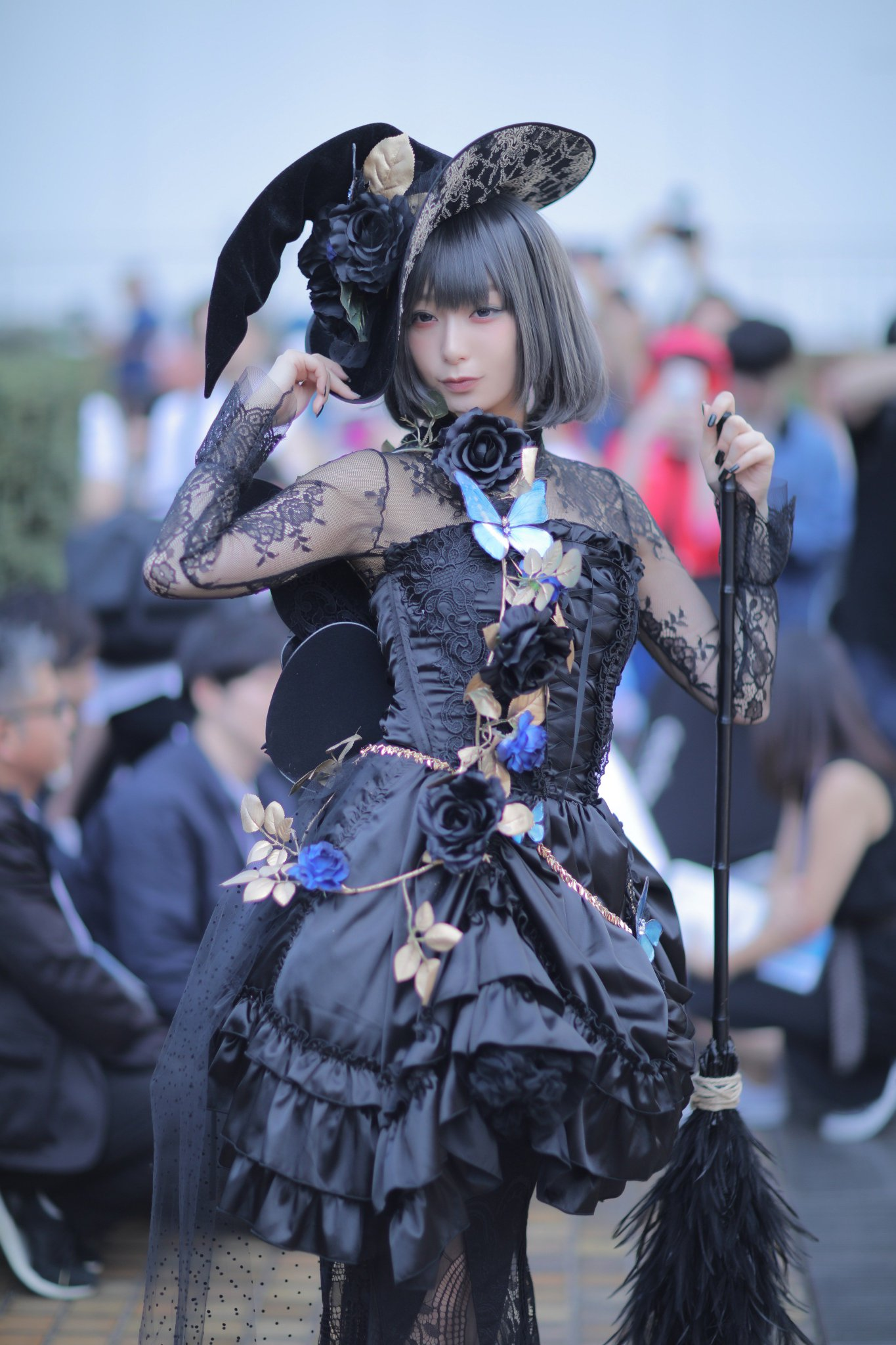 宇垣美里アナの「黒の魔女」コスがかわいすぎるwww