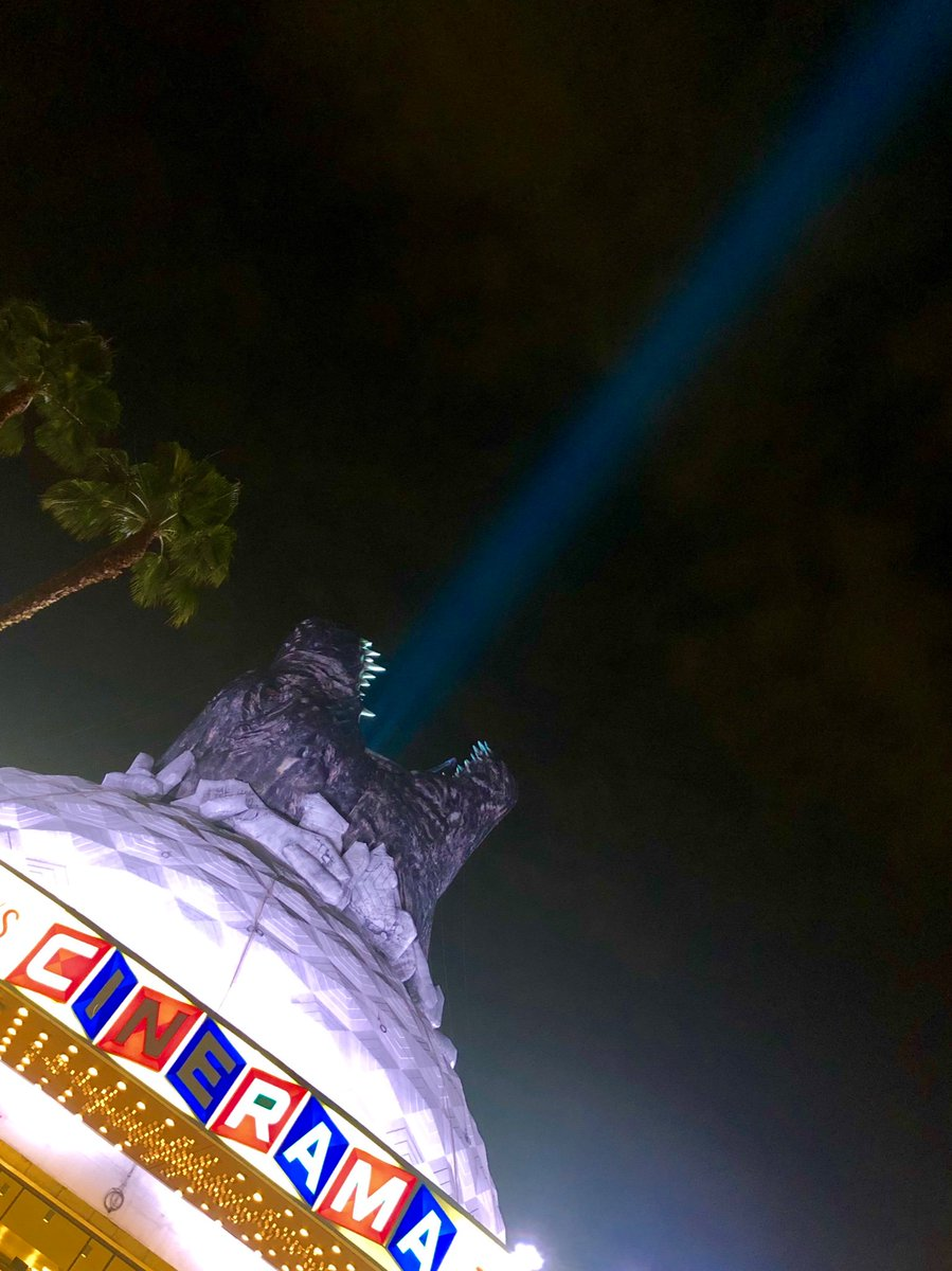 """And Godzilla said """"Let there be light."""""""