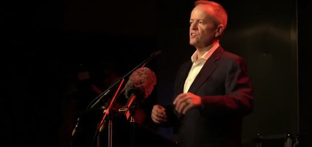 As #poet and #actor the arts gives me freedom when my disability doesn't .@billshortenmp is at the @AustralianLabor arts policy launch at the Espy in Melbourne - a clear sign of how much Labor cares for the arts.#ausvotes #fairgoforarts #makeitaustralian #auspol