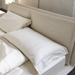 Image for the Tweet beginning: Polstrované postele od italské značky