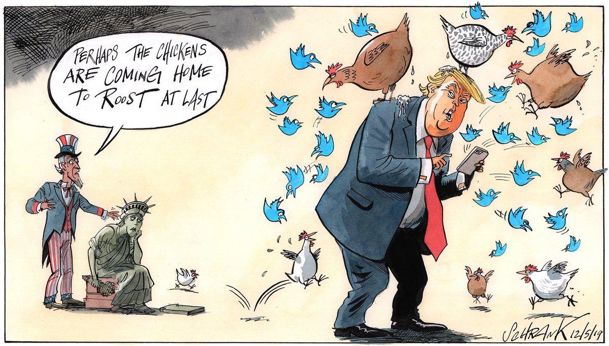 "Political Cartoon on Twitter: ""Peter Schrank on #DonaldTrump #liberty # uncleSam #MuellerReport #RussianCollusion #ImpeachTrump #chickens - political  cartoon gallery in London https://t.co/dePcTdnXF6 https://t.co/SXEfs5OUQx""  / Twitter"