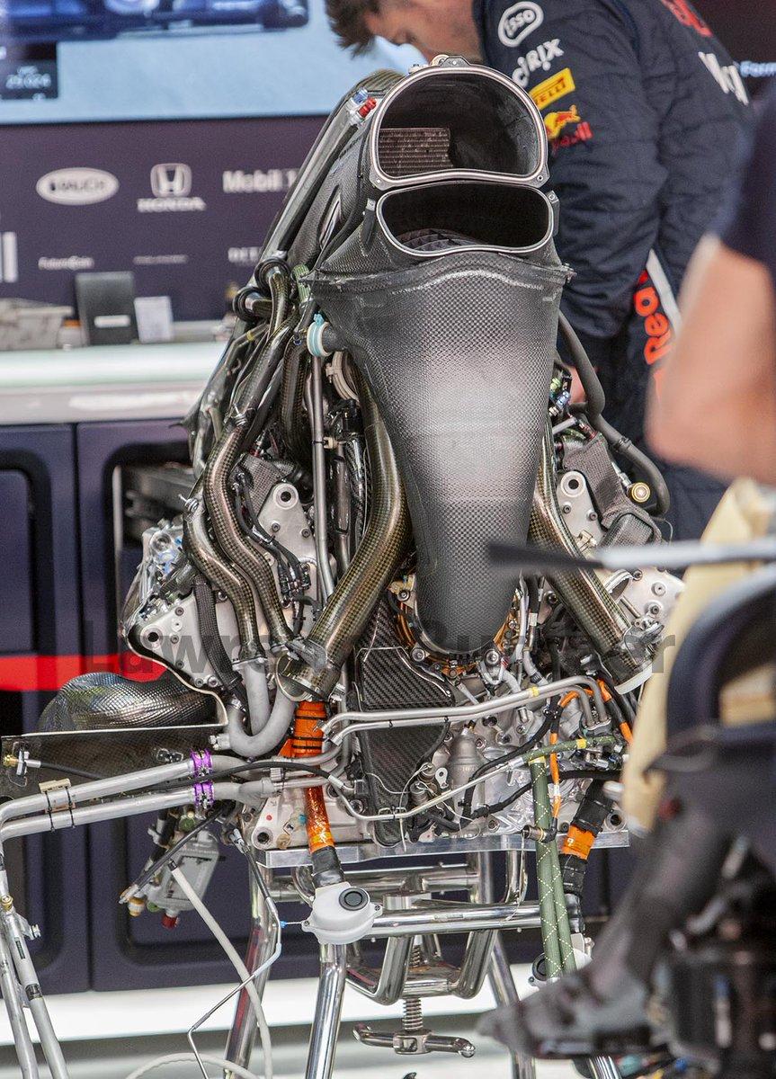 Honda Barca 2019 PU. Merc layout se obrestuje in koncno deluje zanesljivo. Vec na F1T ce koga zanima seveda.