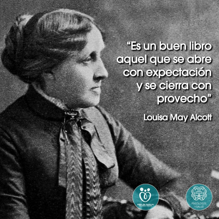 Psicologos Y Salud On Twitter Biografía De Louisa May
