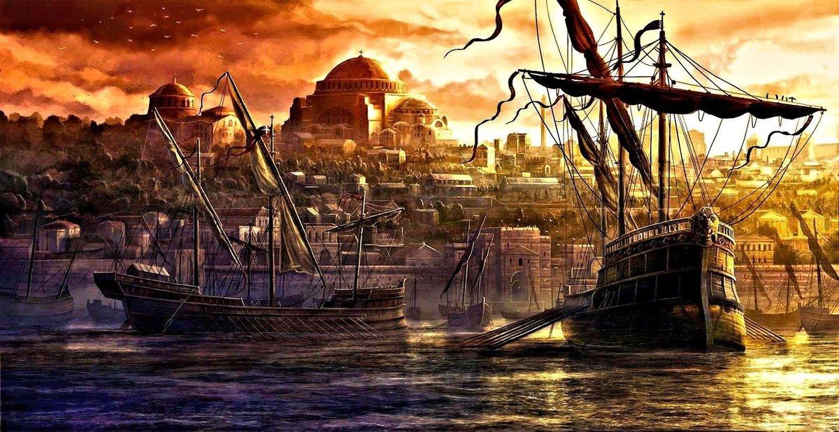 """Ελληνική Metapedia on Twitter: """"11 Μαΐου 330. Ο #Μέγας_Κωνσταντίνος  εγκαινιάζει την #πόλη που έχτισε πάνω στο #Βυζάντιο και την ονομάζει  #Νέα_Ρώμη, όπου και μεταφέρει την #πρωτεύουσα της Ρωμαϊκής αυτοκρατορίας. Η  #πόλη, που"""