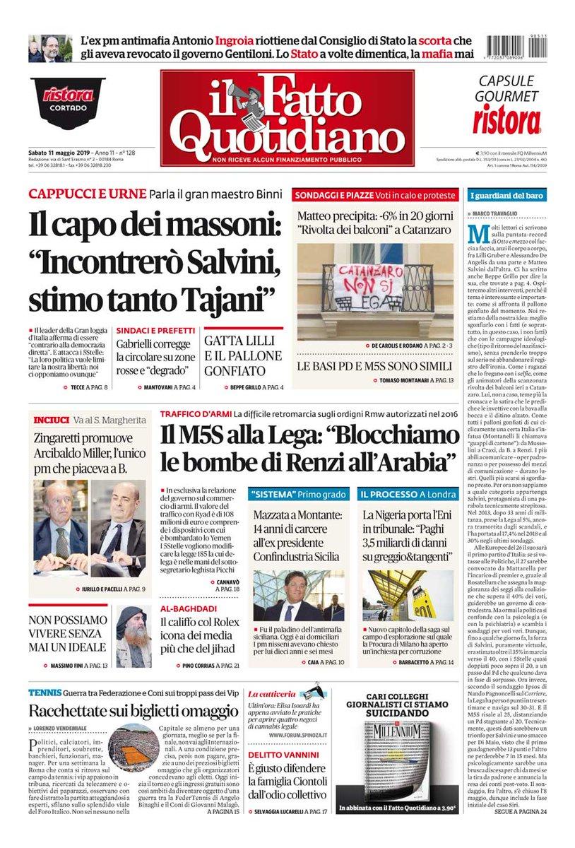 4516bca4b6 Il Fatto Quotidiano on Twitter: