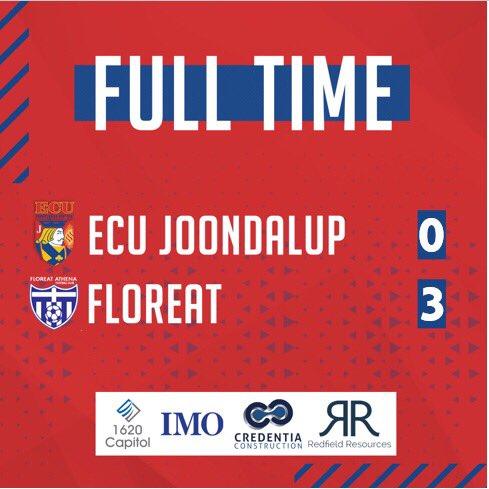 ECU Joondalup Soccer's photo on FULL TIME