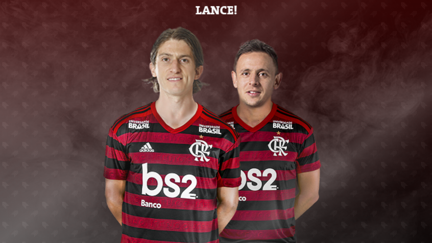 Flamengo - LANCE!'s photo on Filipe Luís